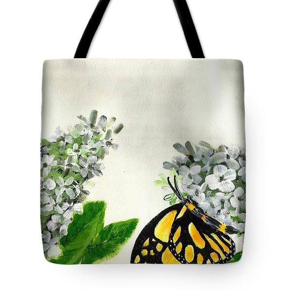 Butterfly Tote Bag by Francine Heykoop