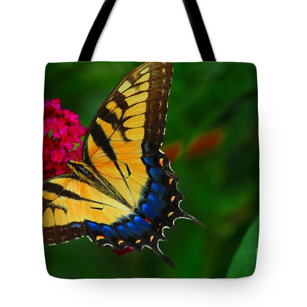 Tote Bag featuring the photograph Butterfly by Geraldine DeBoer