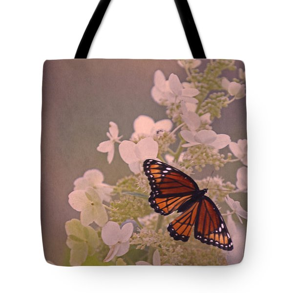 Butterfly Glow Tote Bag by Elizabeth Winter