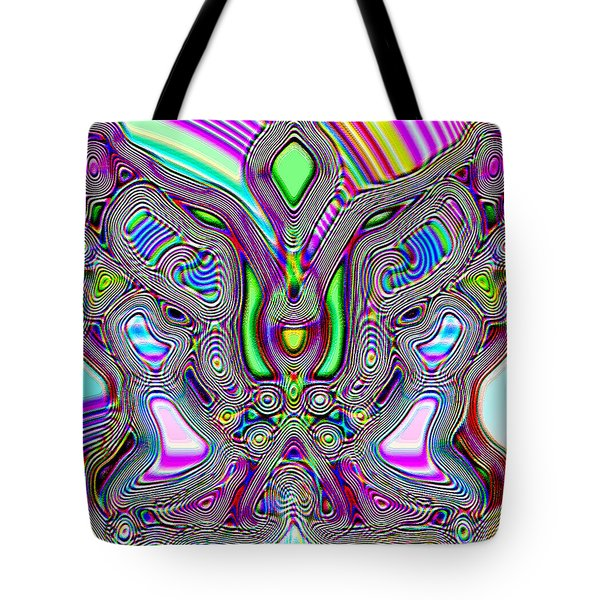 Butterfly Groove Tote Bag
