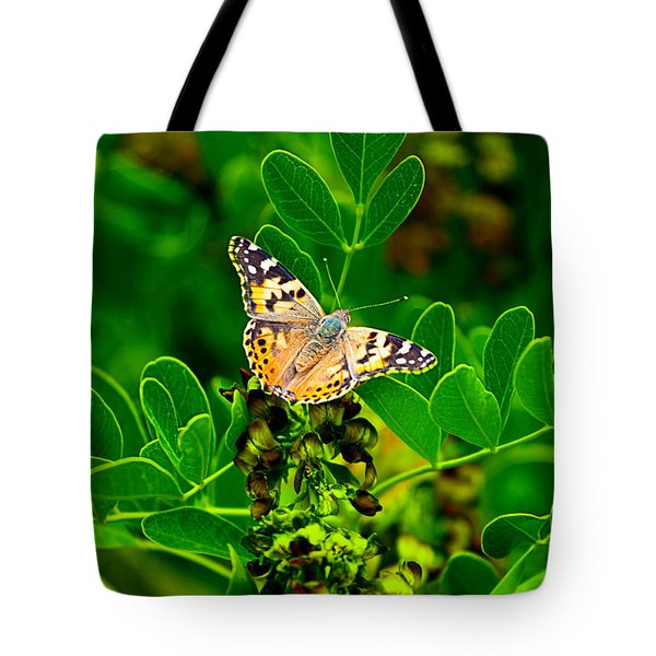Butterfly In Paradise Tote Bag