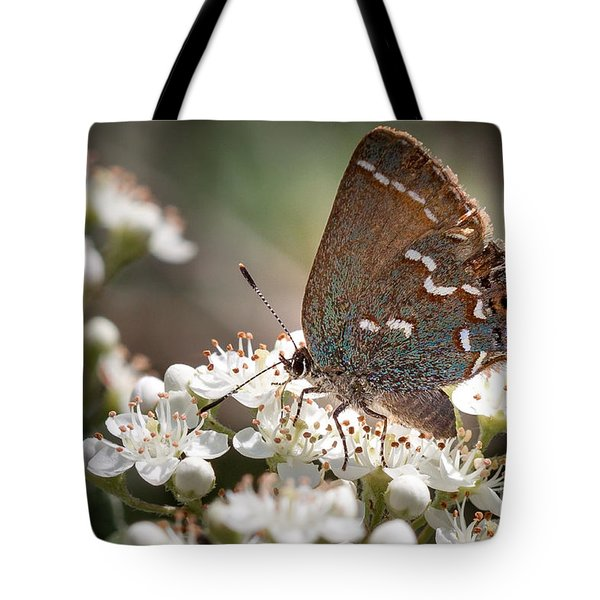 Butterfly In The Garden Tote Bag