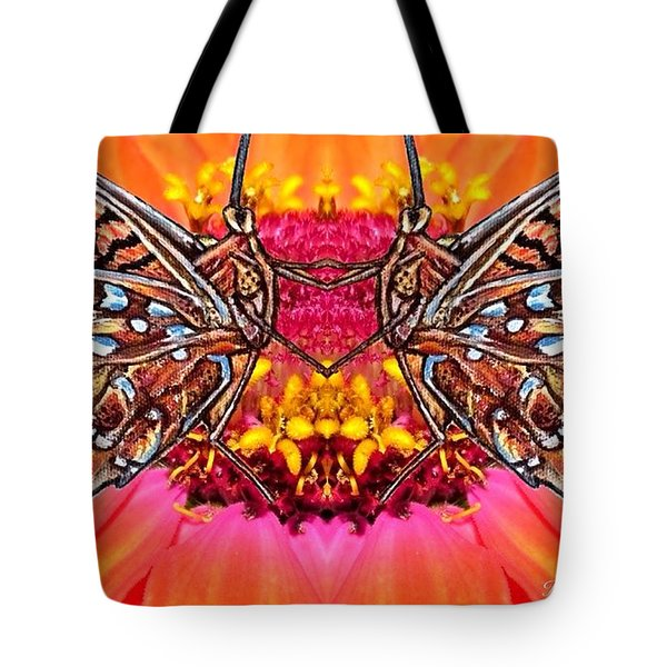Butterfly Jig Tote Bag