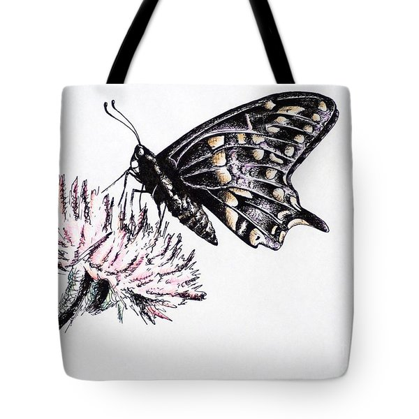 Butterfly Tote Bag by Katharina Filus