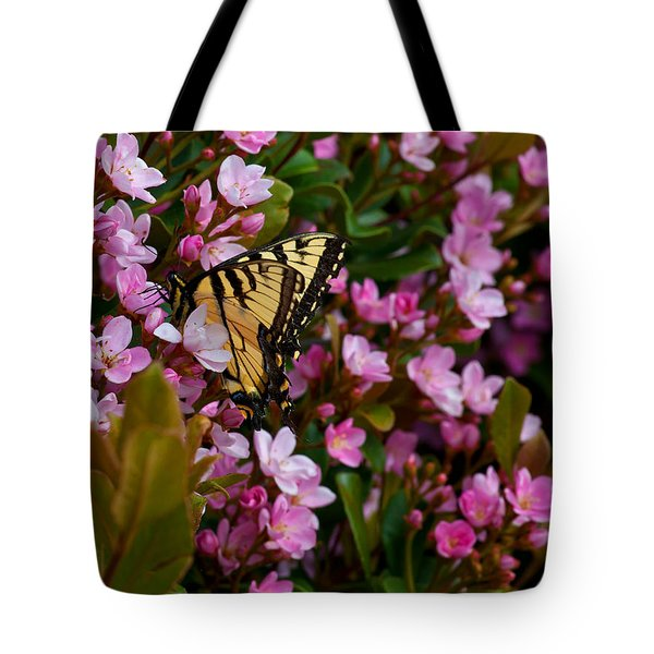 Butterfly Tote Bag by Mark Alder