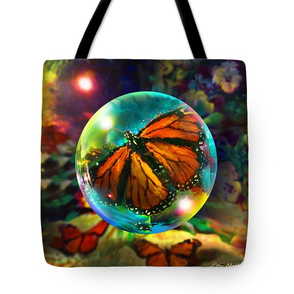 Butterfly Monarchy Tote Bag