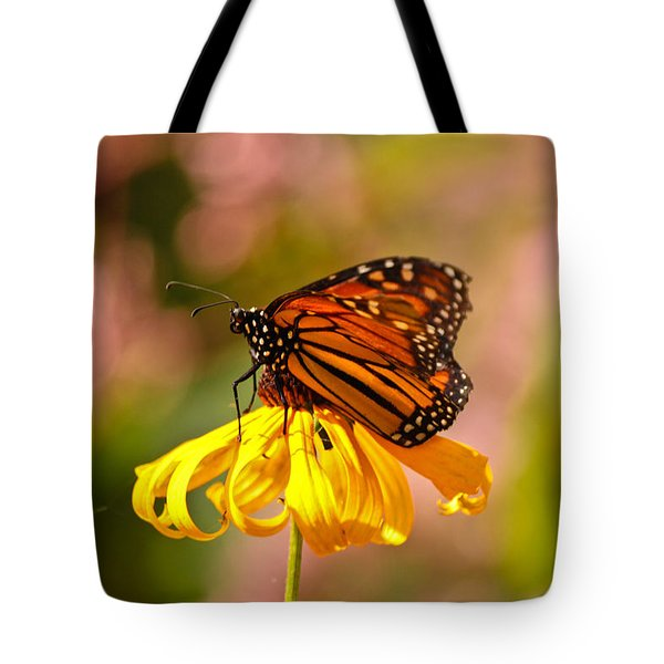 Butterfly Monet Tote Bag