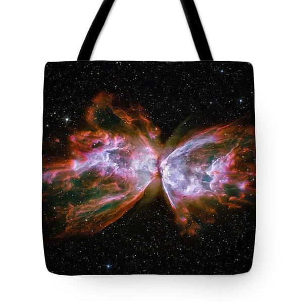 Butterfly Nebula Ngc6302 Tote Bag