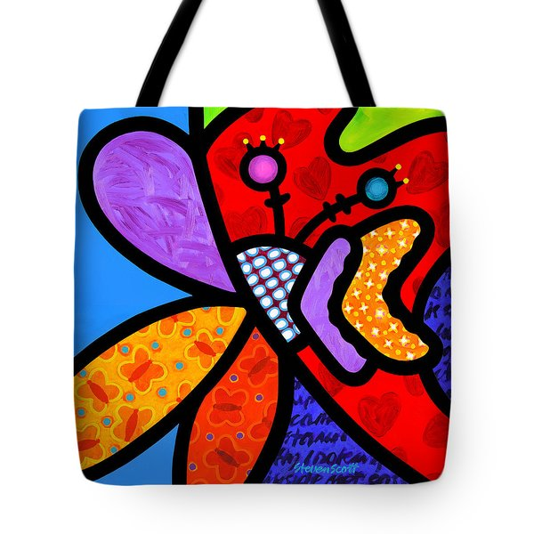 Butterfly Orchid Tote Bag
