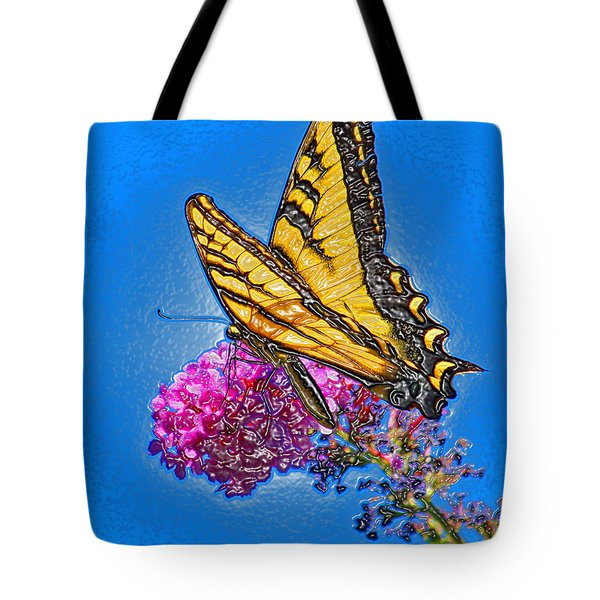 Tote Bag featuring the photograph Butterfly by Patrick Witz