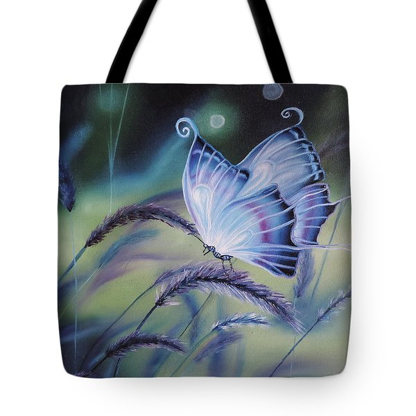 Butterfly Series #3 Tote Bag by Dianna Lewis