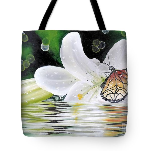 Butterfly Series Seven Tote Bag by Dianna Lewis