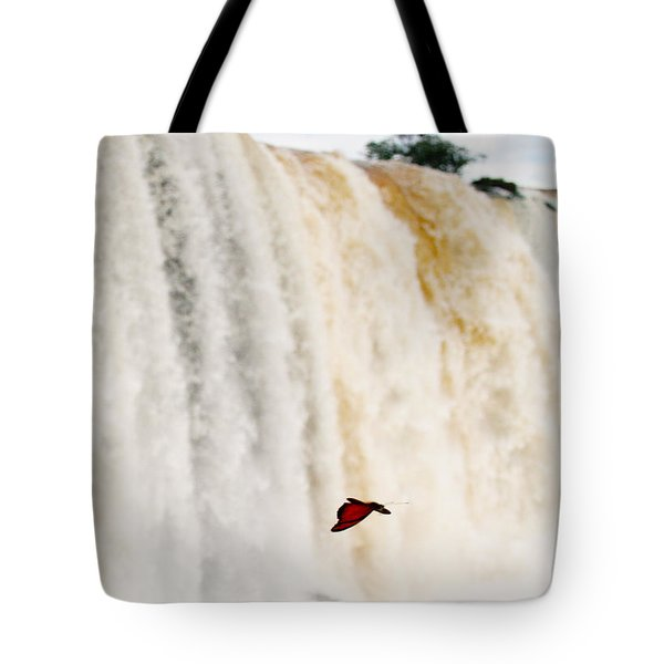 Tote Bag featuring the photograph Butterfly by Silvia Bruno