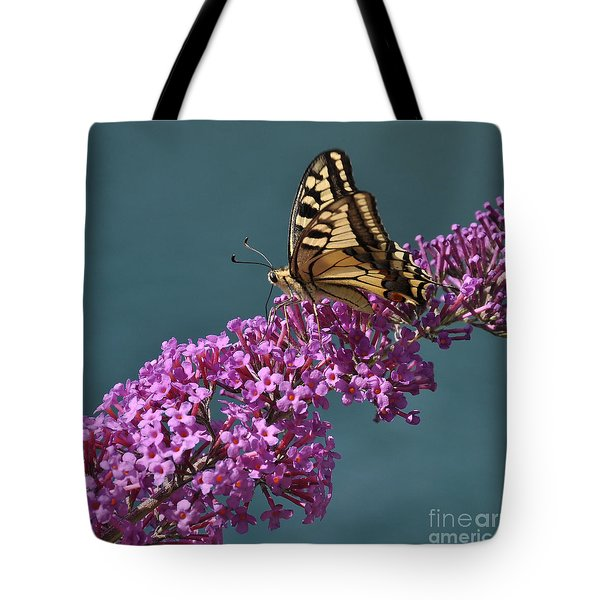 Butterfly Tote Bag by Simona Ghidini