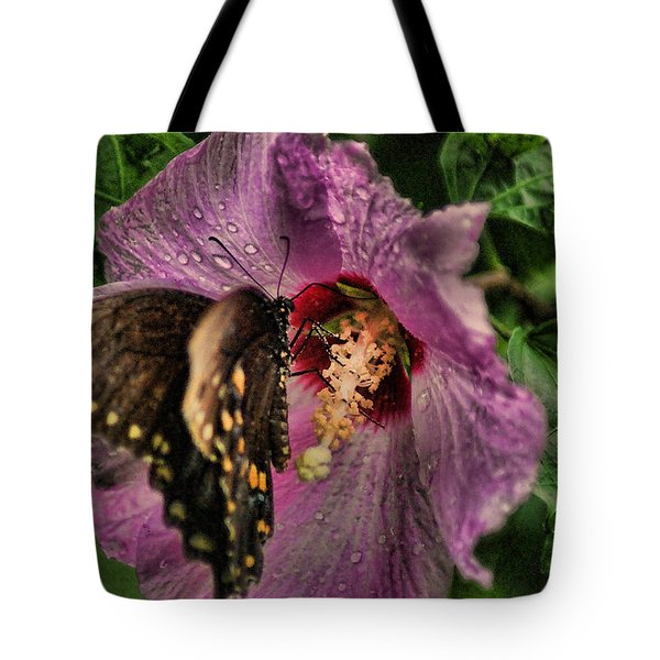 Butterfly Slurpy Tote Bag