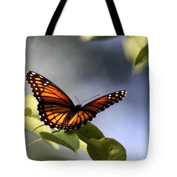 Butterfly -  Soaking Up The Sun Tote Bag