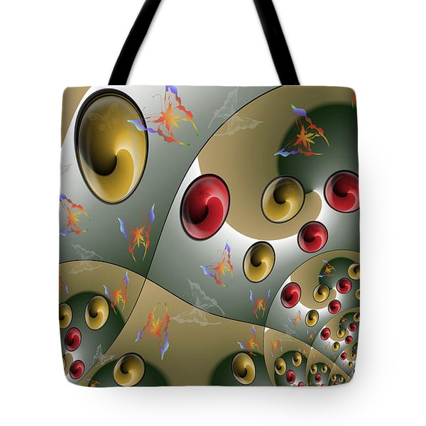 Butterfly Storm Tote Bag