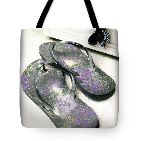 Butterfly Summer Tote Bag