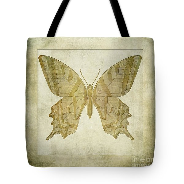 Butterfly Textures Tote Bag by John Edwards
