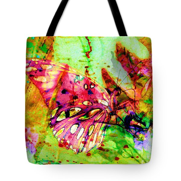 Butterfly That Was A Muscian Tote Bag