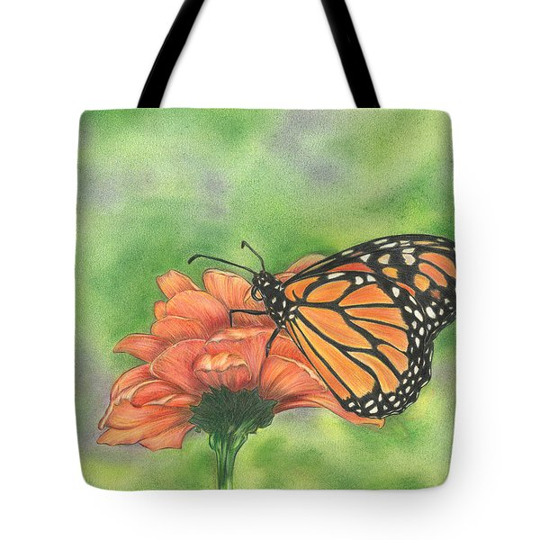 Butterfly Tote Bag by Troy Levesque