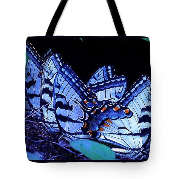 Butterfly Wings Tote Bag by Rita Mueller