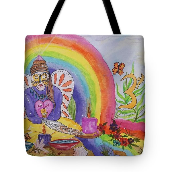 Butterfly Woman Healer I Am Tote Bag