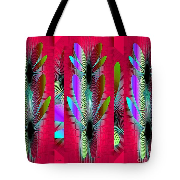 Butterfly World Tote Bag by Iris Gelbart