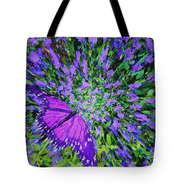 Butterfly.1 Tote Bag by Mariarosa Rockefeller
