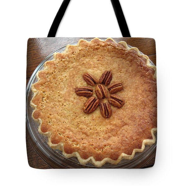 Buttermilk Pecan Pie Tote Bag by Connie Fox
