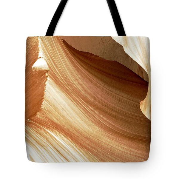 Butterscotch Taffy Antelope Canyon Tote Bag