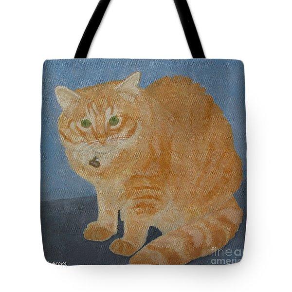 Butterscotch The Cat Tote Bag