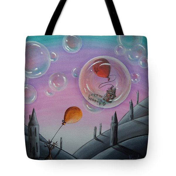 Buubble Trouble Tote Bag