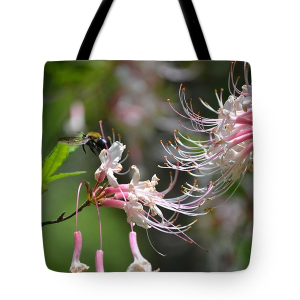 Tote Bag featuring the photograph Buzz Buzz by Tara Potts