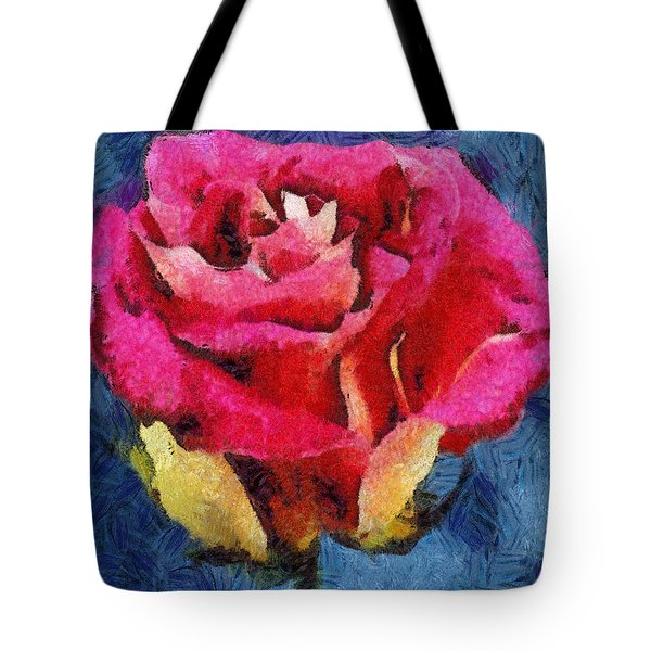 Tote Bag featuring the digital art By Any Other Name by Joe Misrasi