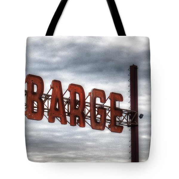 by The Barge Tote Bag