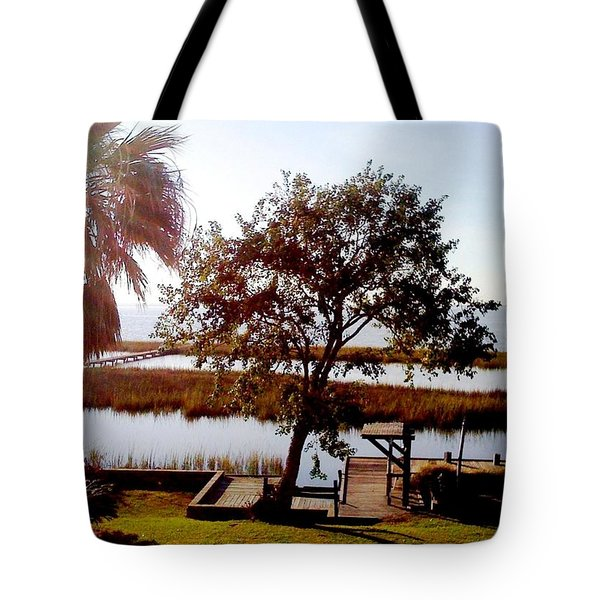By The Bay Tote Bag