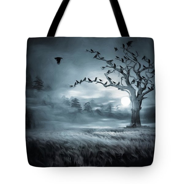 By The Moonlight Tote Bag