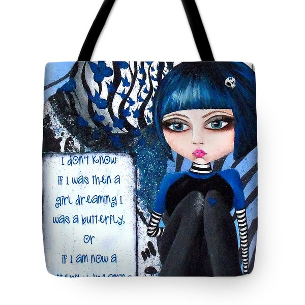 By The Moonlight Tote Bag by Oddball Art Co by Lizzy Love