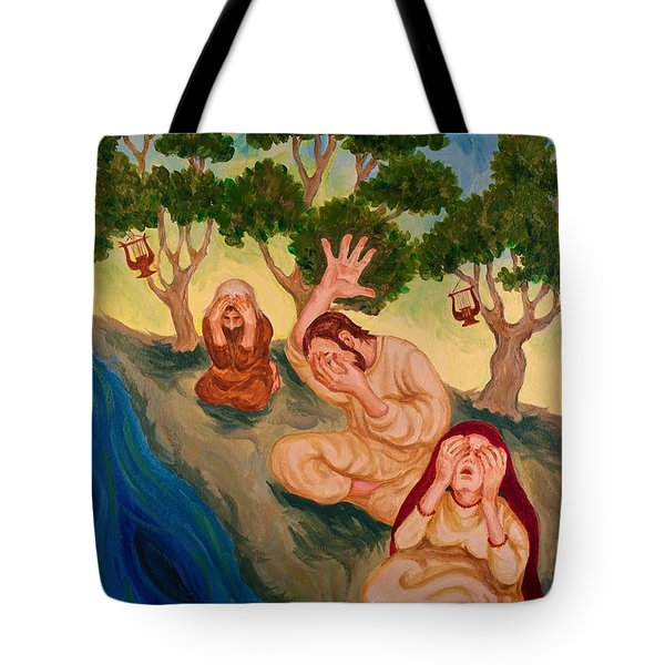 By The Rivers Of Babylon - Psalm 137 Tote Bag