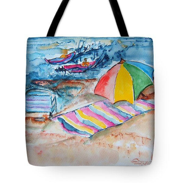 By The Sea Tote Bag by Elaine Duras