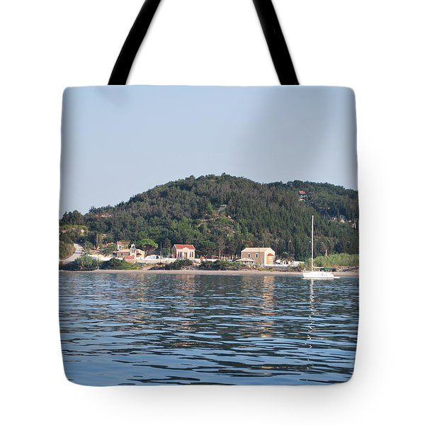 Tote Bag featuring the photograph By The Sea by George Katechis