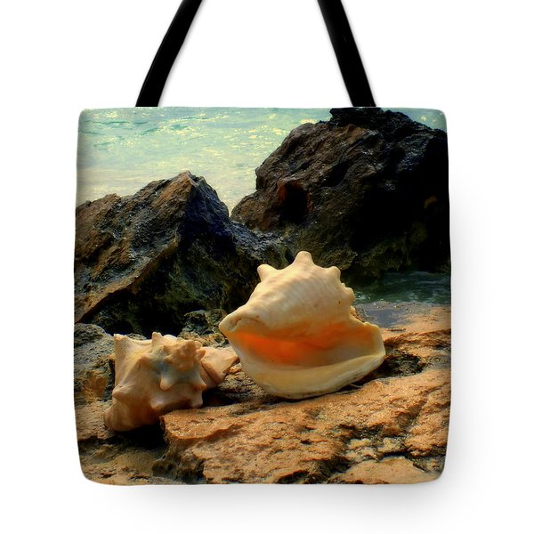 By The Sea Tote Bag by Karen Wiles
