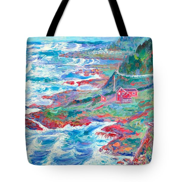By The Sea Tote Bag by Kendall Kessler