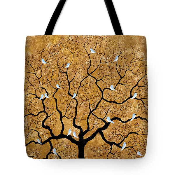 By The Tree Tote Bag
