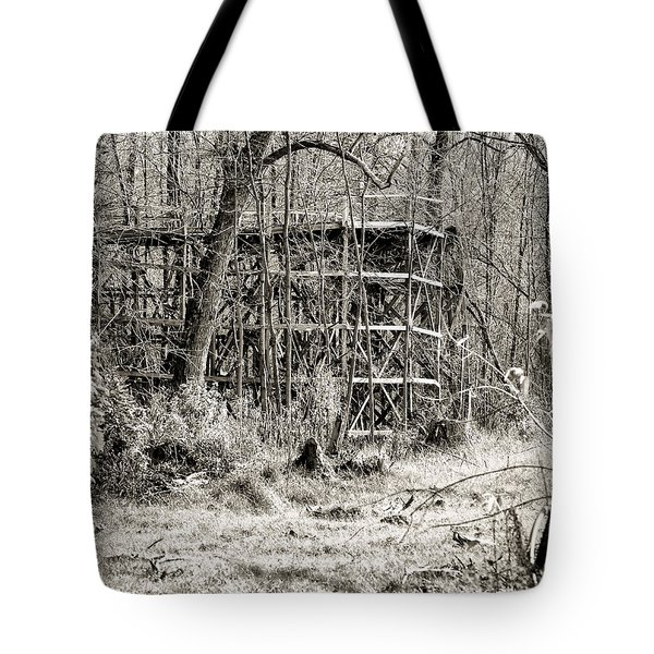 Bygone Days Tote Bag by William Beuther