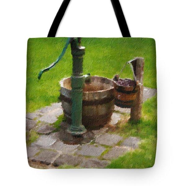 Bygone Times Tote Bag by Blair Stuart