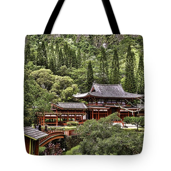 Byodo-in Tote Bag by Joanna Madloch