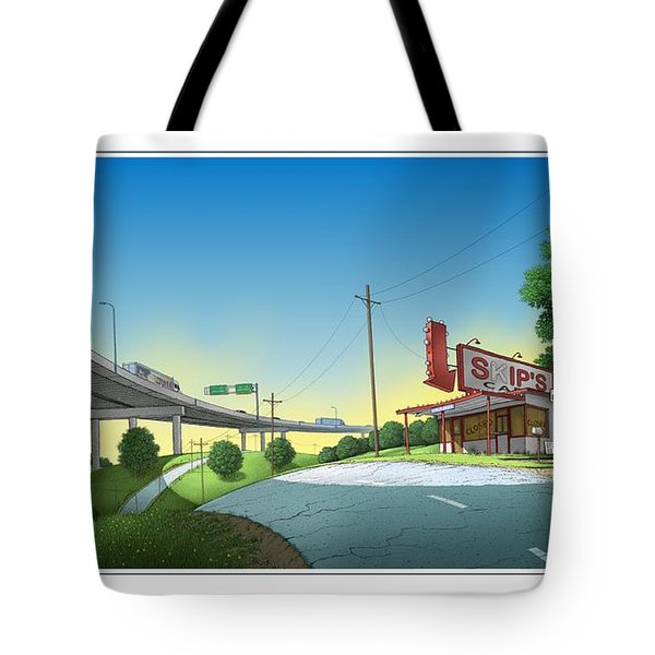 Bypassed Tote Bag