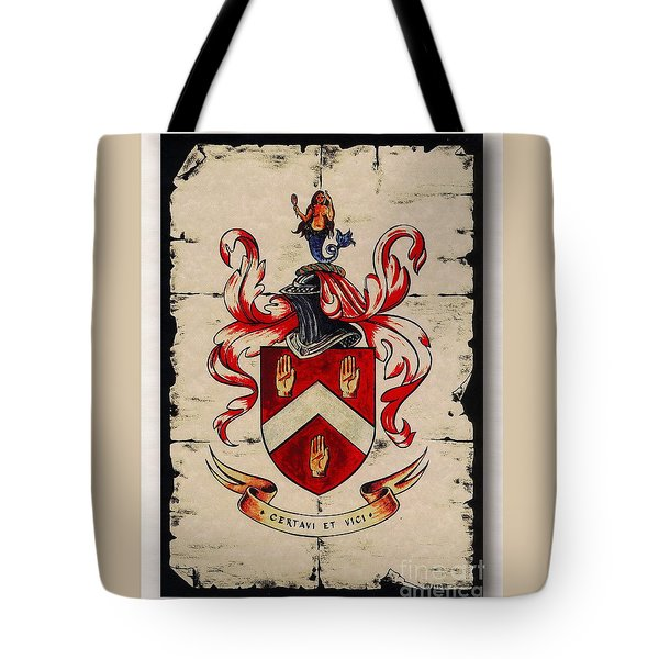 Byrne Coat Of Arms Tote Bag